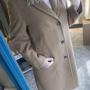 WOODMERE vintage wool coat